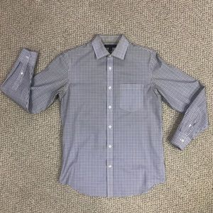 Non-Iron Classic Fit Banana Republic Check Shirt